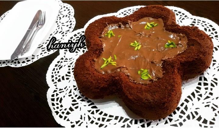 کیک شکلاتی فوری (کم کالری)