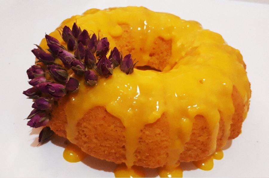 کیک زعفرانی باسس خوشمزش
