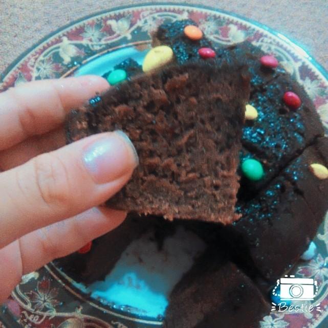 کیک خیس شکلاتي...