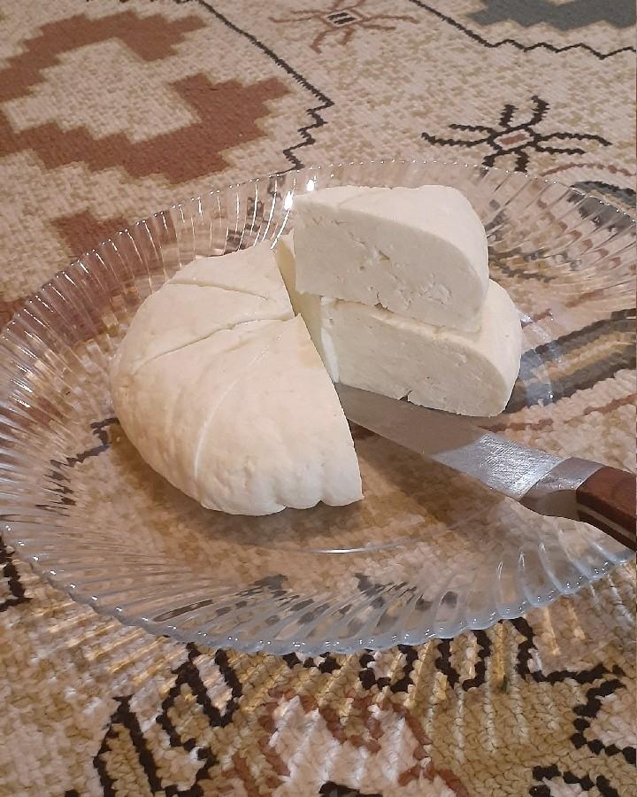 پنیر خانگی  بادستور دخترم❤نفسم مررررسی