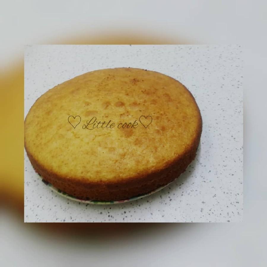 عکس کیک اسفنجی (وانیلی)