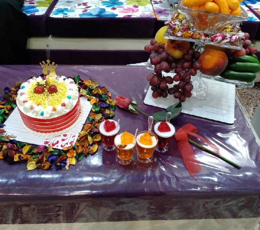 میز کیک تولد