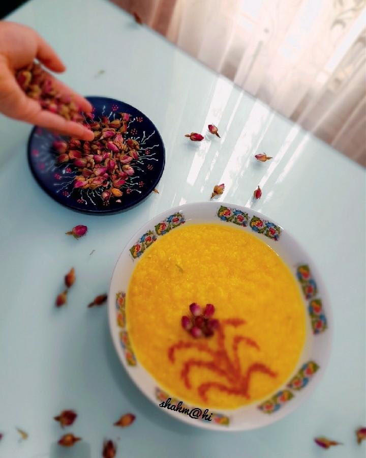 شله زرد عید محمدی مبارک