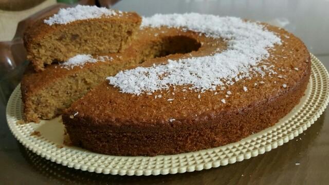 عکس کیک خرما