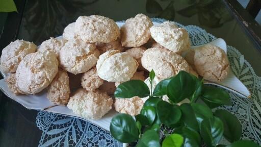 عکس شیرینی نارگیلی بدون روغن