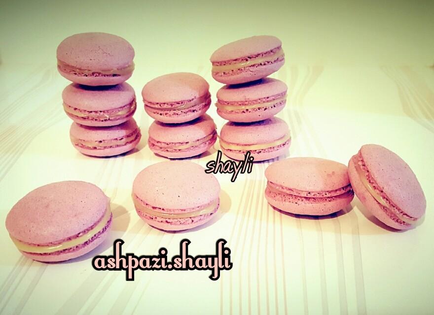 عکس شیرینی ماکارون