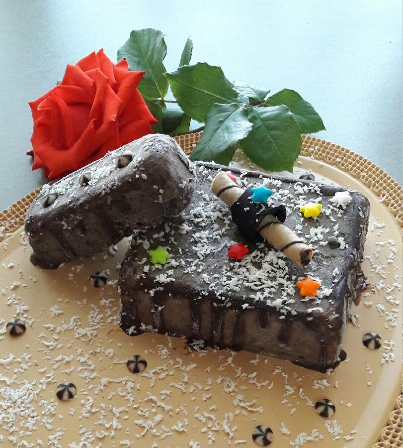 عکس بستنی موزی شکلاتی