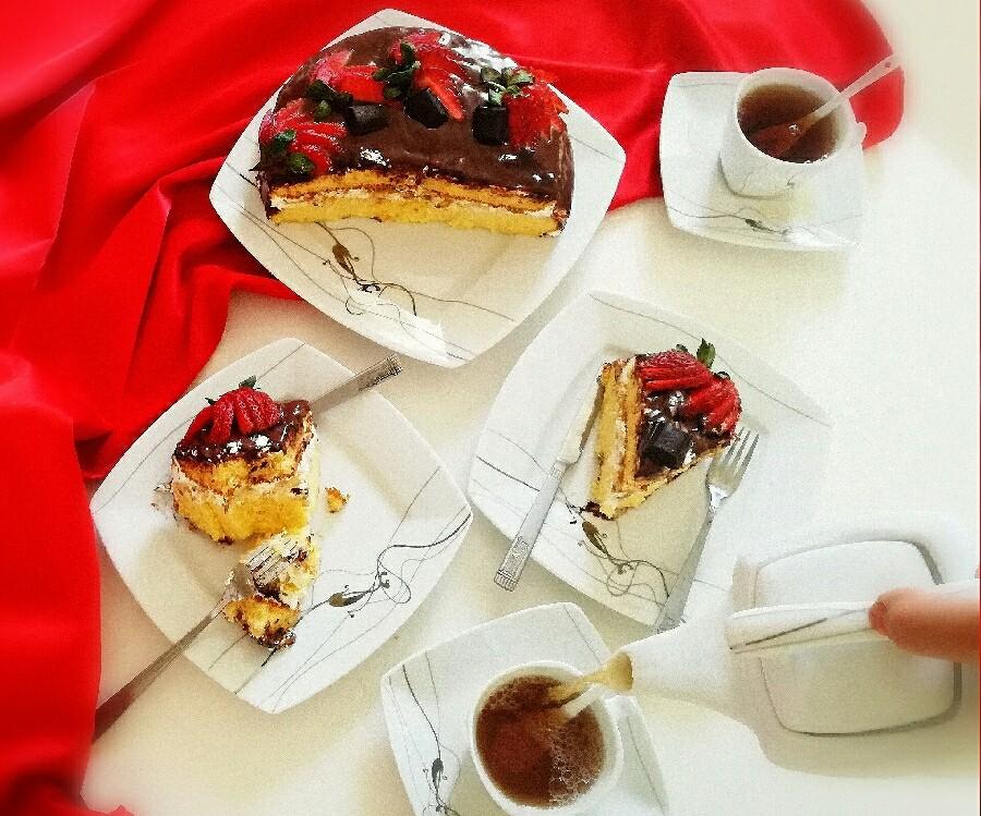 عکس کیک تولد بدون فر