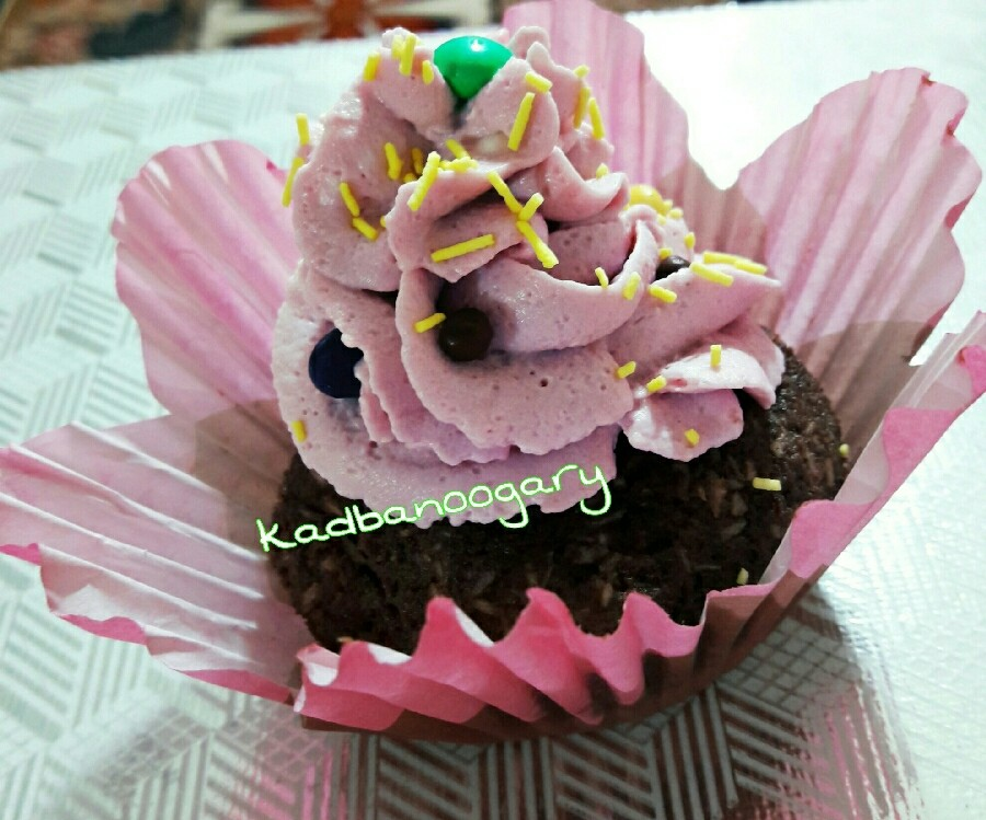 عکس شیرینی دسری با خرده کیک