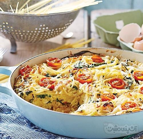 عکس کیک اسپاگتی