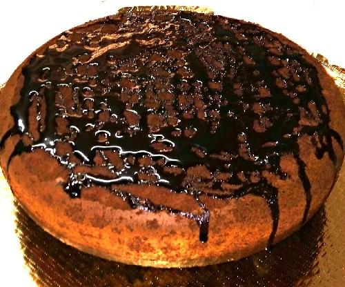 عکس کیک شکلاتی بی بی