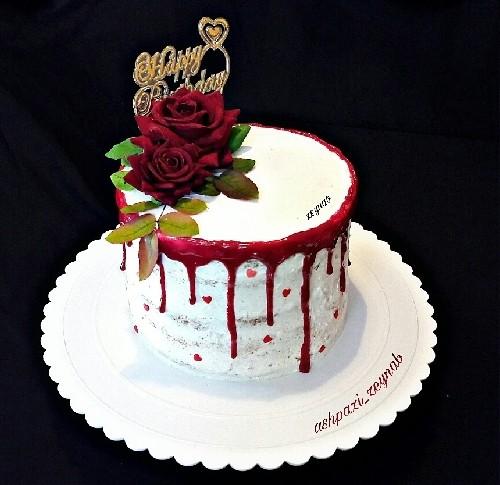 عکس کیک عریان