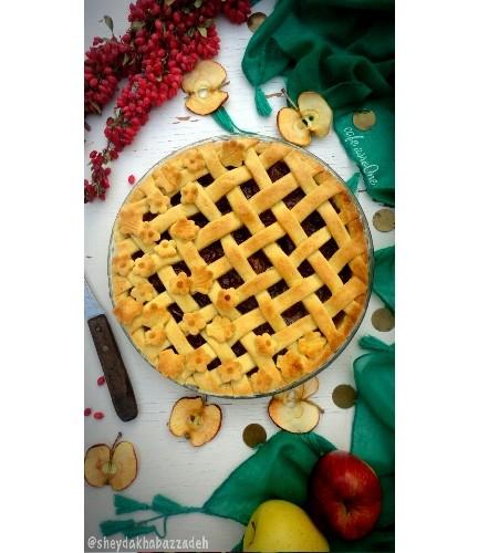عکس پای سیب دارچین