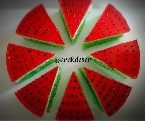 عکس چیزکیک هندوانه