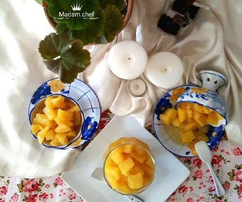 عکس کمپوت آناناس