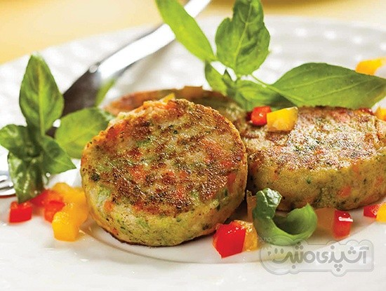 عکس کوکوی سبزیجات