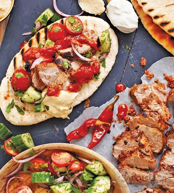 عکس کباب ترکی با گوشت