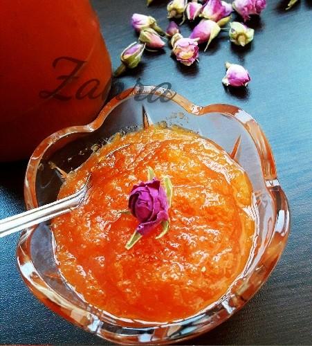 عکس مارمالاد هویج برای شیرینی ها