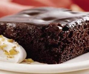 عکس کیک مگا براونی