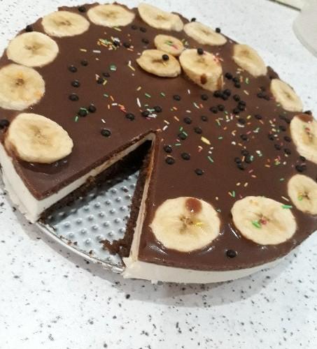 عکس چیز کیک شکلاتی