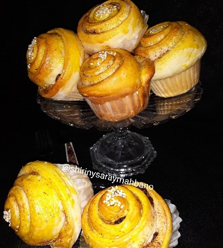 عکس نان گل اتریشی