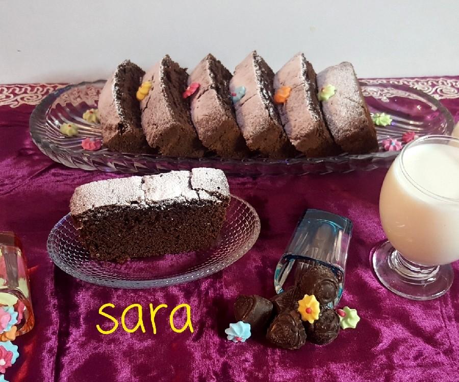 عکس کیک شکلات تلخ