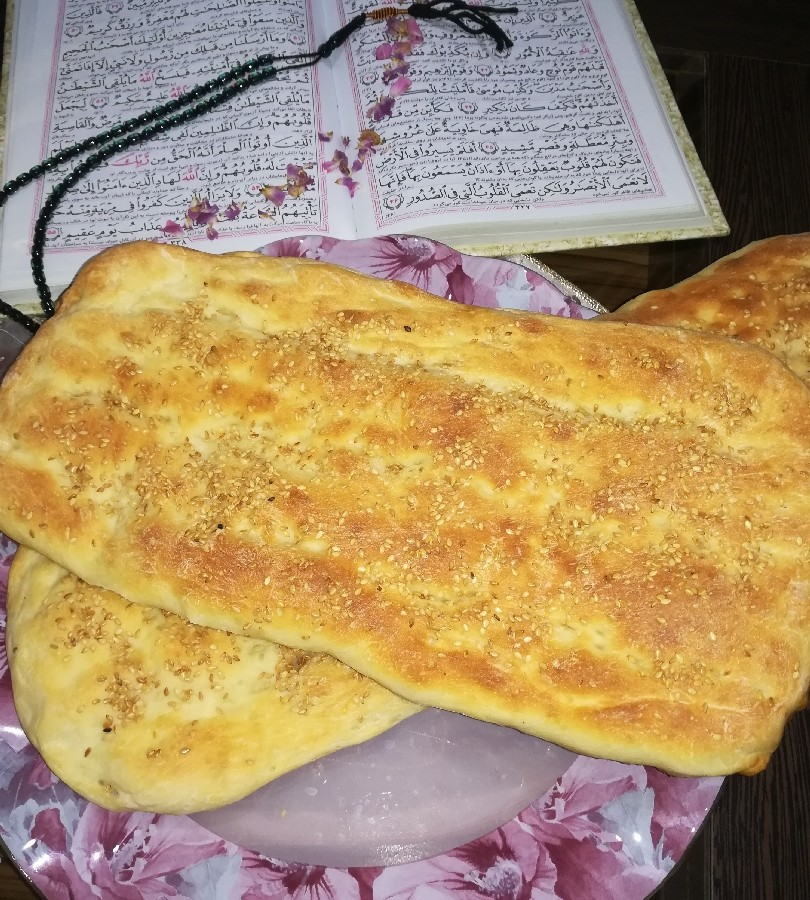 عکس نان بربری