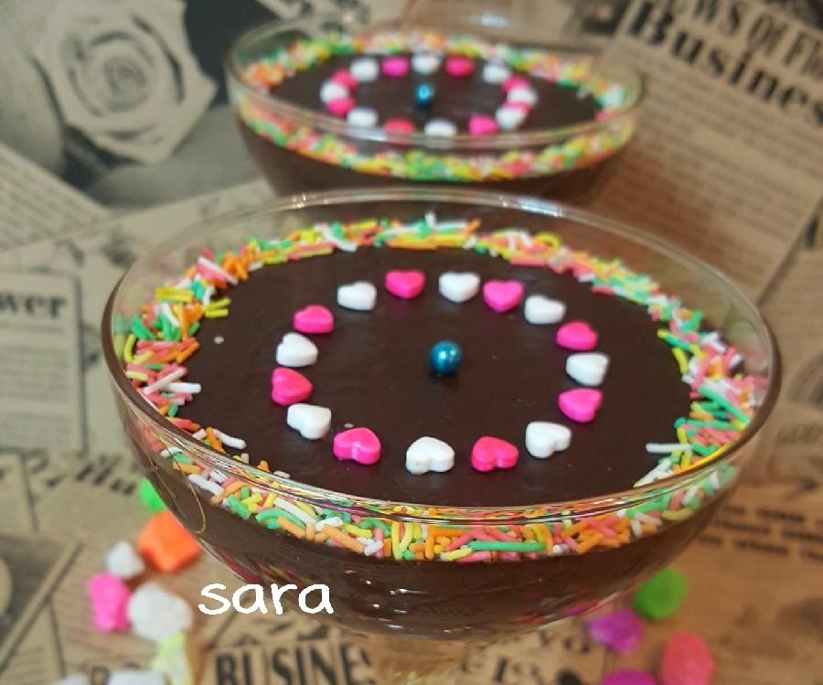 عکس ساندی شکلات
