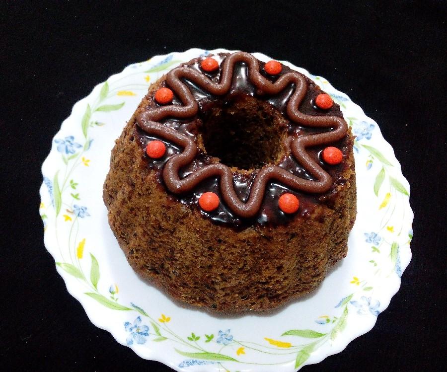 عکس کیک خرما بدون شکر