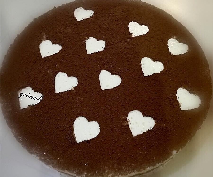عکس موس کیک شکلاتی سه لایه