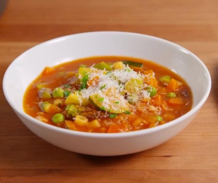 عکس سوپ برنج و ذرت