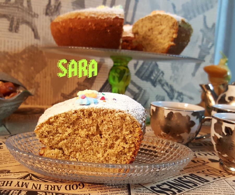 عکس کیک چای سبز