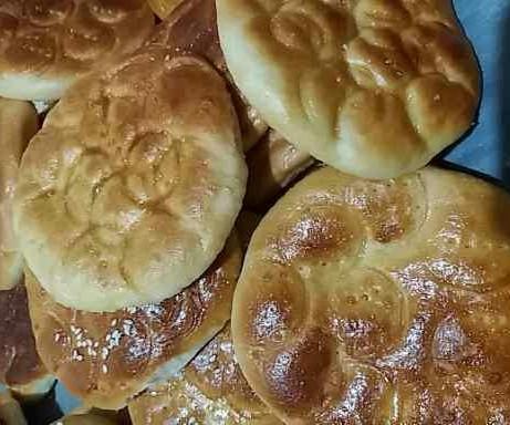 عکس نان تفتان سنتی