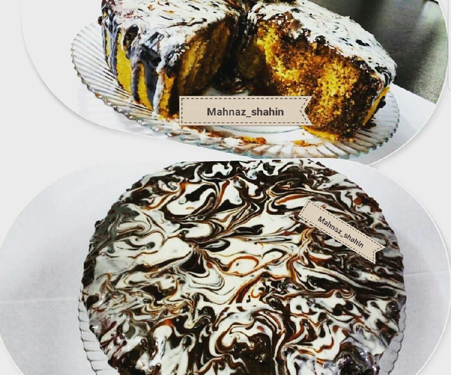 عکس کیک ابر و باد