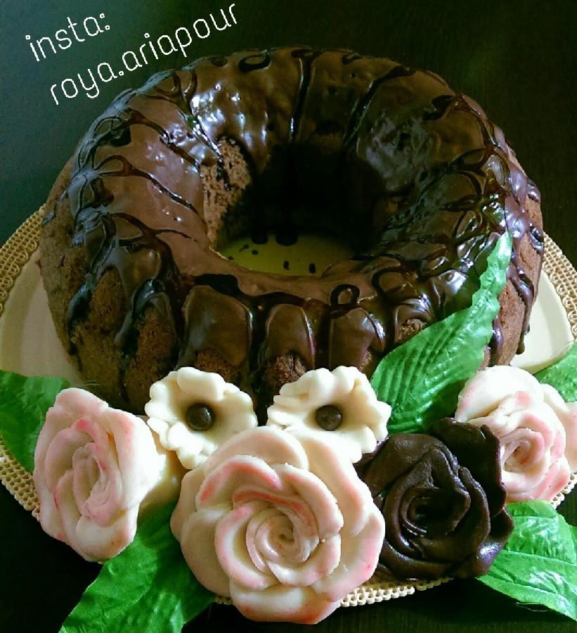 عکس گل های شکلاتی