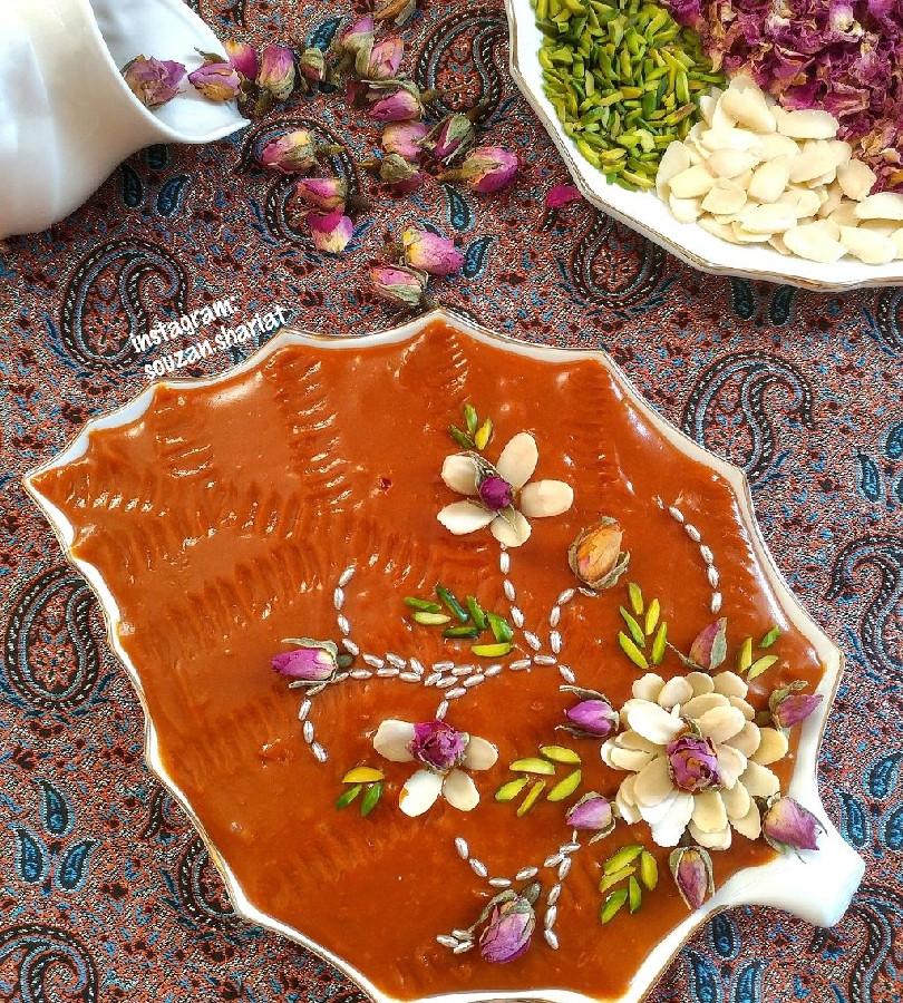 عکس حلوا عربی (شیرخشک)