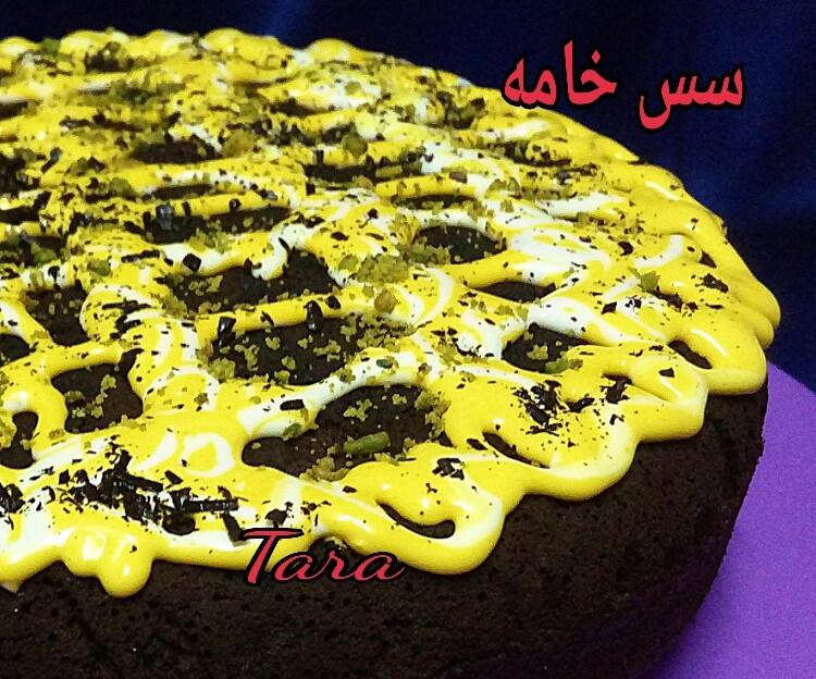 عکس سس خامه ای برای کیک