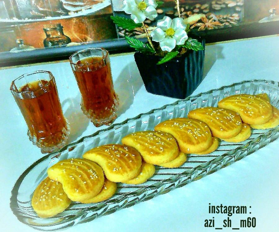 عکس شیرینی نان چایی قزوین