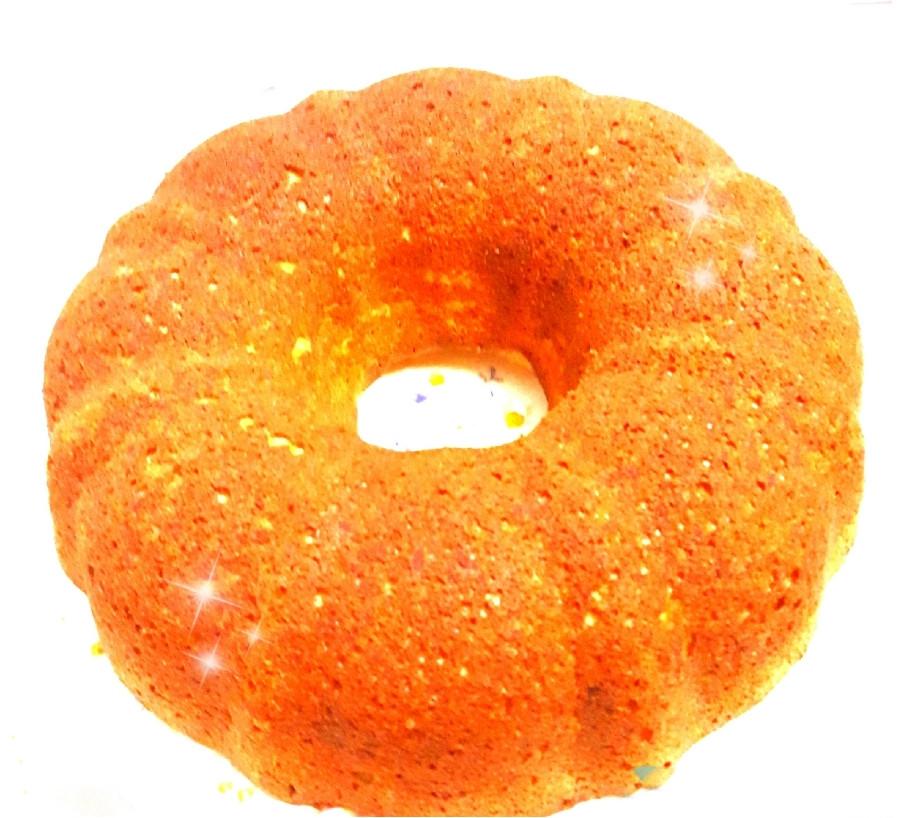 عکس کیک زعفرانی نارگیلی
