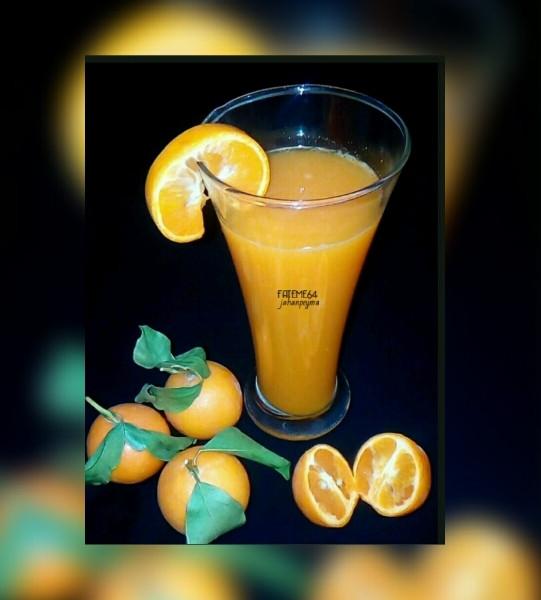 عکس شربت نارنگی