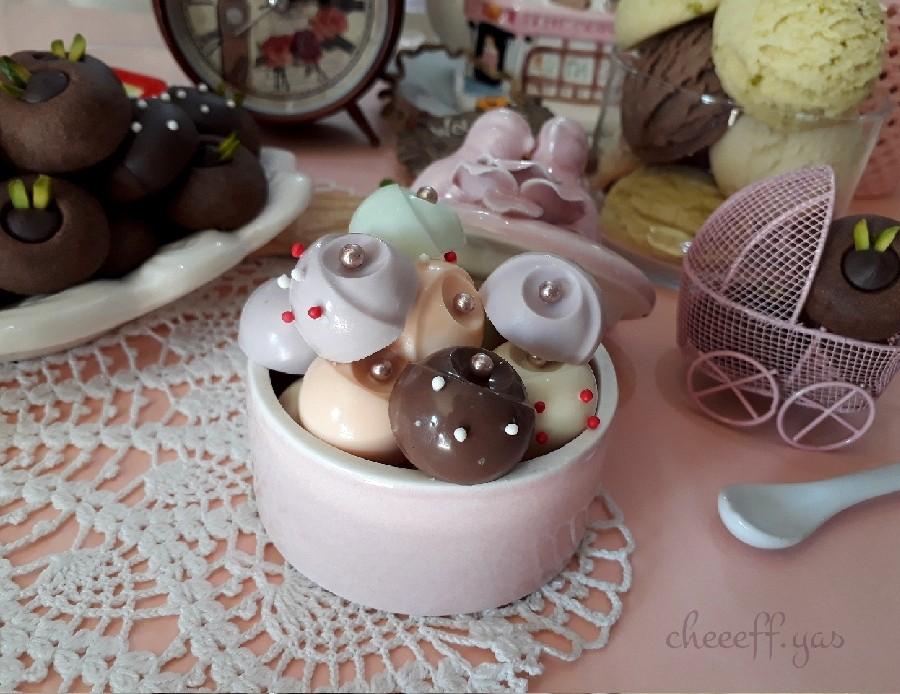 عکس شکلات باونتی