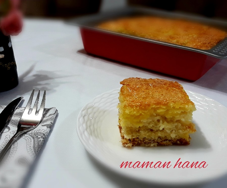 عکس نان خانگی با رویه نارگیل