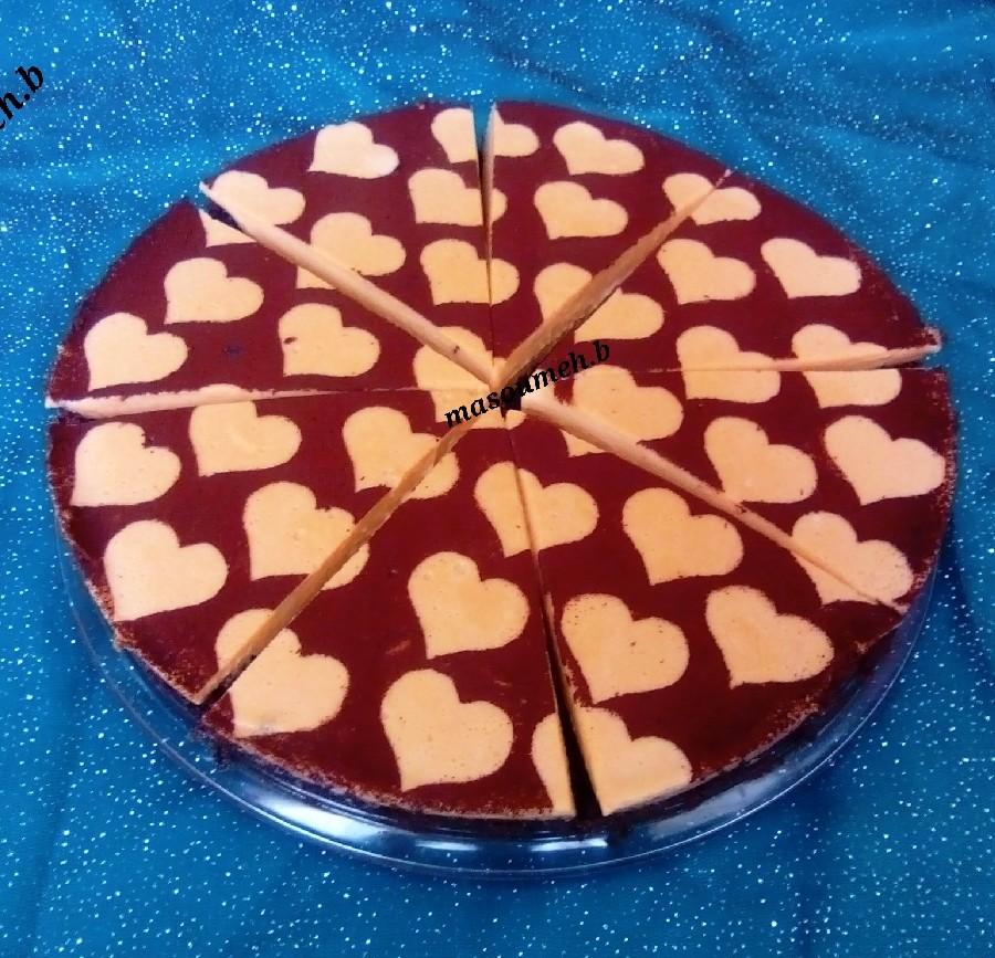 عکس دسر شکلاتی کاراملی(همراه باکیک)