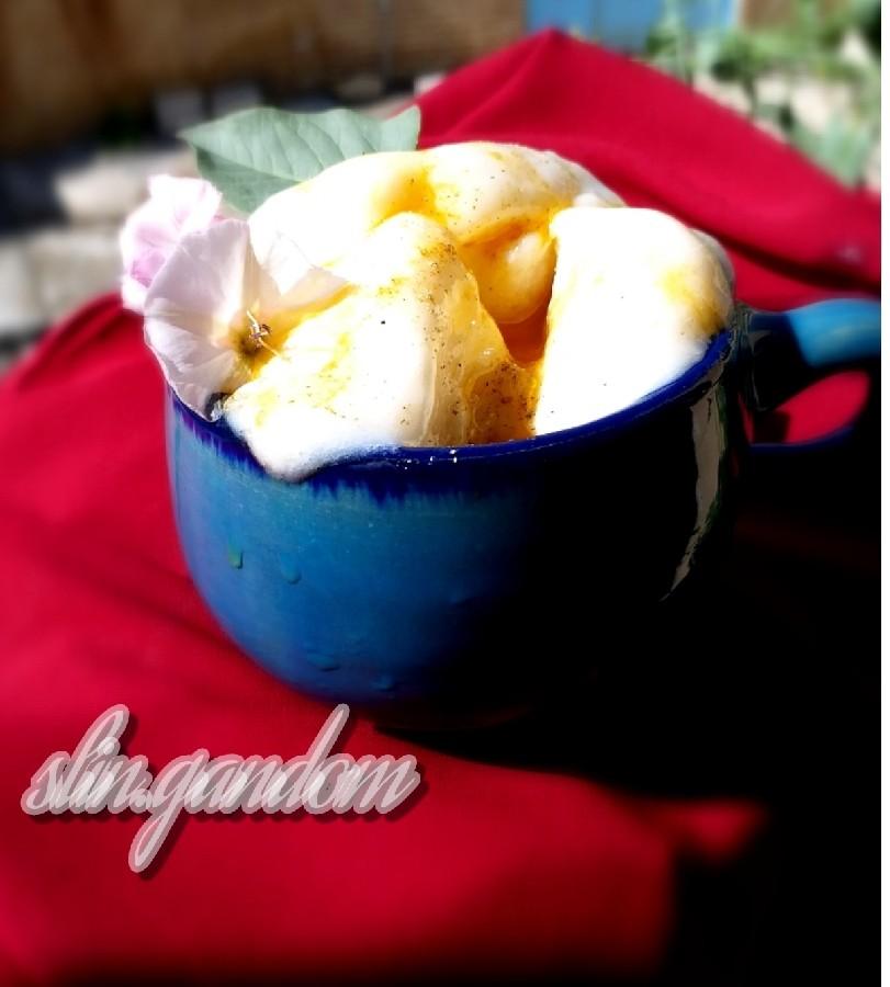 عکس بستنی سنتی وانیلی