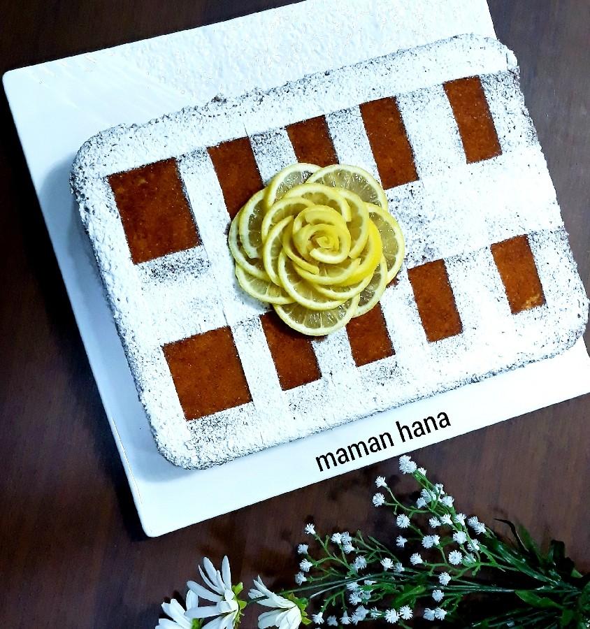 عکس کیک لیمو ترش