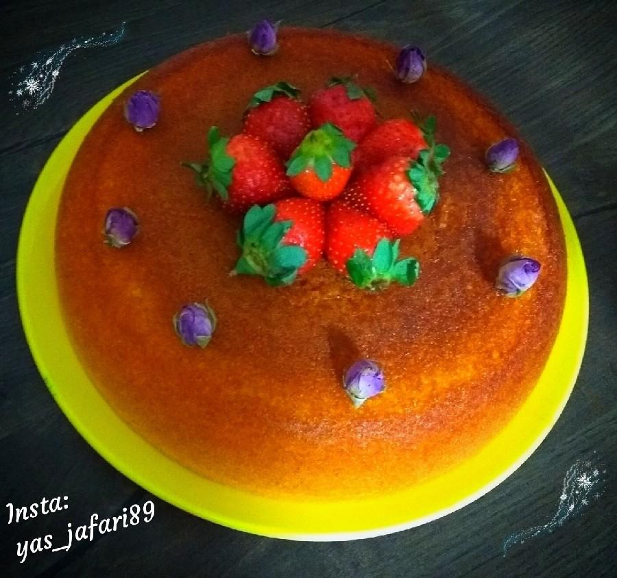 عکس کیک آرد برنج