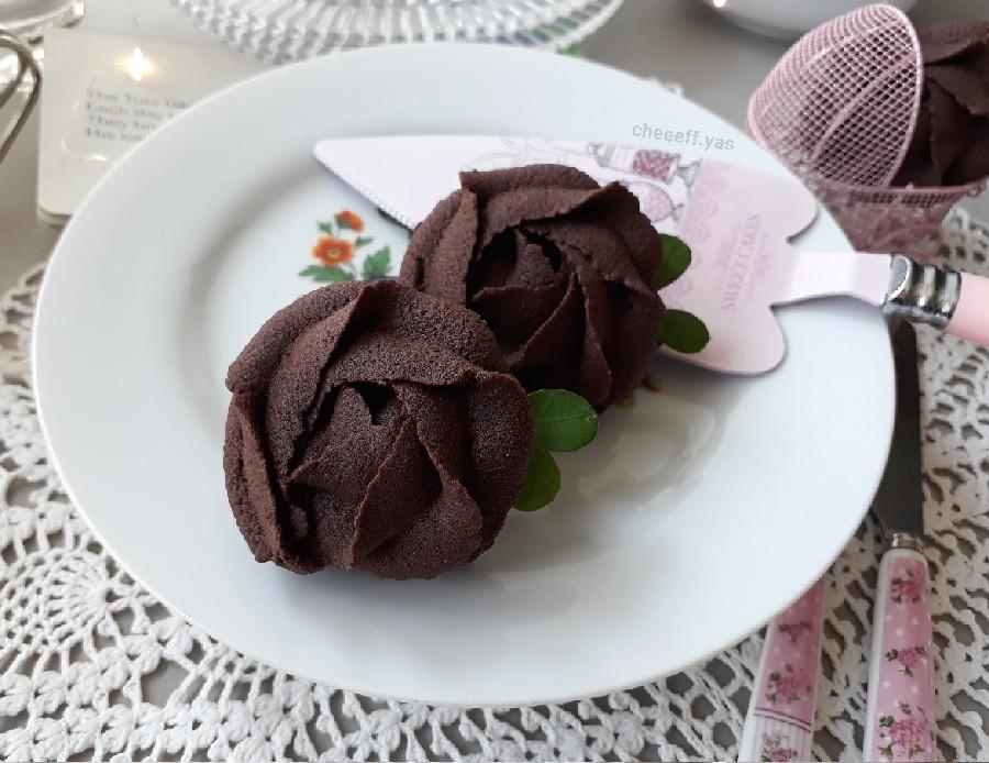 عکس کوکی شکلاتی
