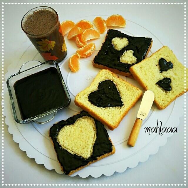 عکس شکلات صبحانه خانگی