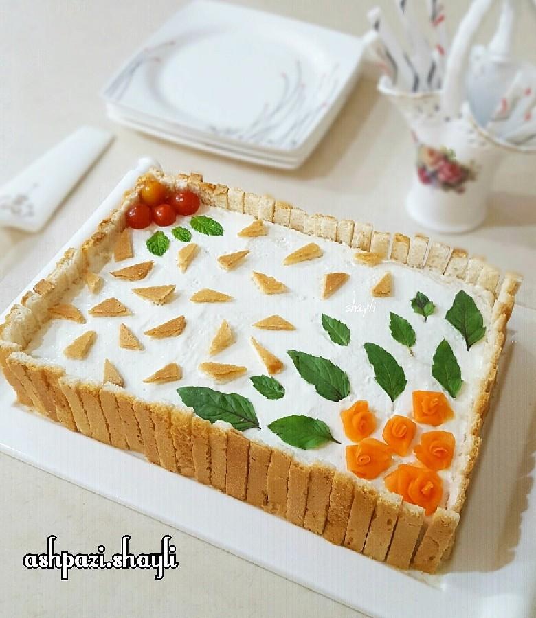 عکس کیک مرغ