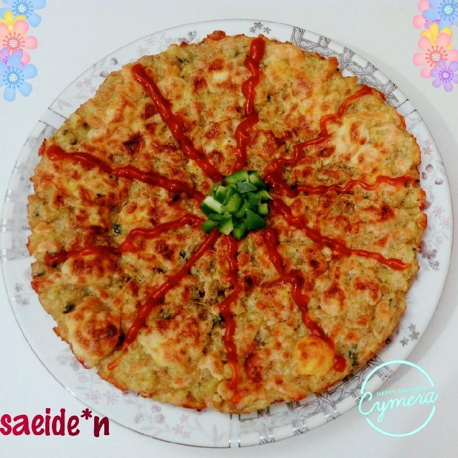 عکس پیتزا سیب زمینی